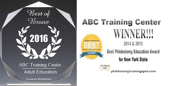 Awards by ABC Training Center for Adult Education