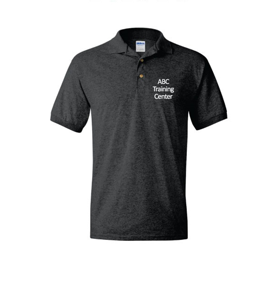 ABC Training Center Black Collar Shirt