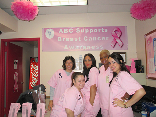 Breast Cancer Awareness Event by ABC Training Center