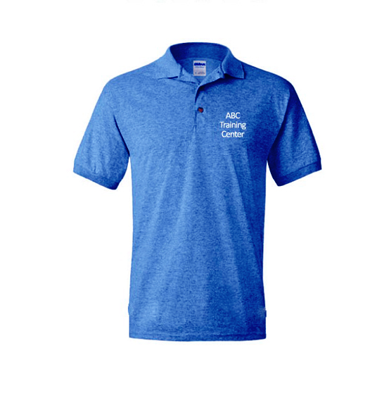 ABC Training Center Blue Collar Shirt