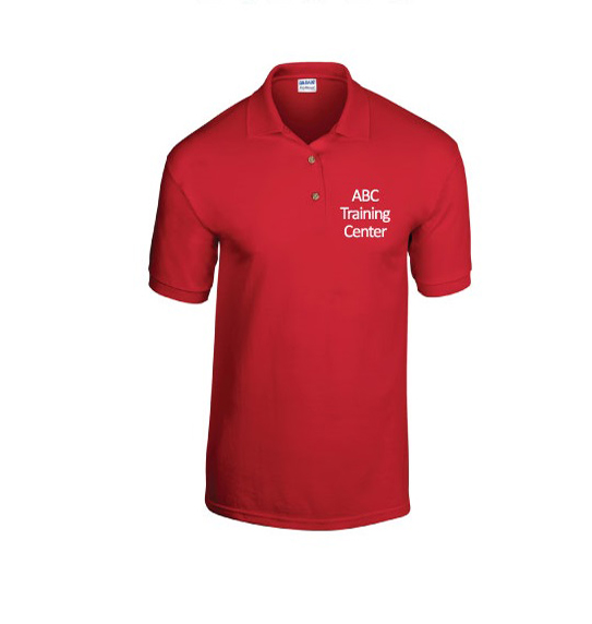 Red Collar Shirt Shop at ABC Training Center