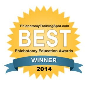 Phlebotomy Award Winner 2014 New York State