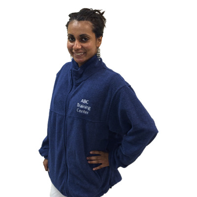 ABC Training Center Navy Blue Fleece