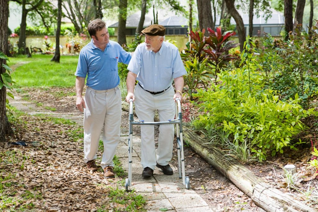 Home Health Aide with Patient