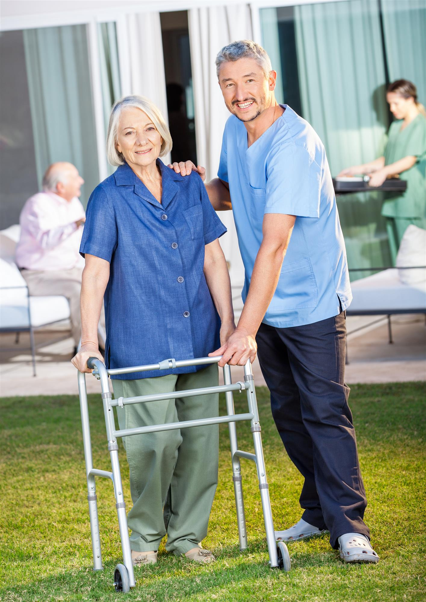 Forward Thinking People Thrive In Home Health Aide Careers