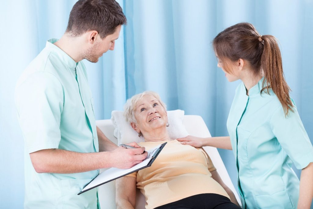 Registered Nurses with Patient
