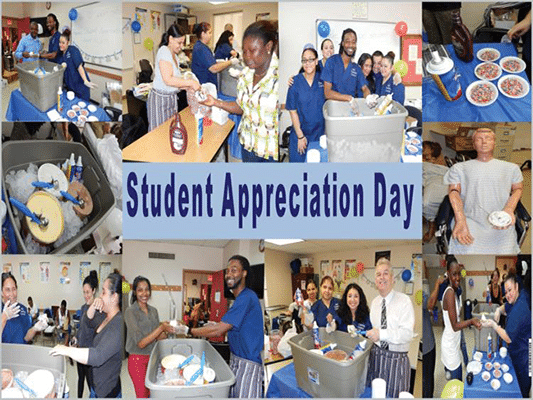 Student Appreciation Day at ABC Training Center