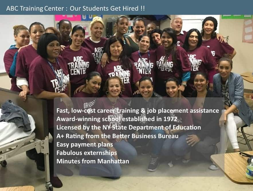 ABC Training Center: Our Students Get Hired