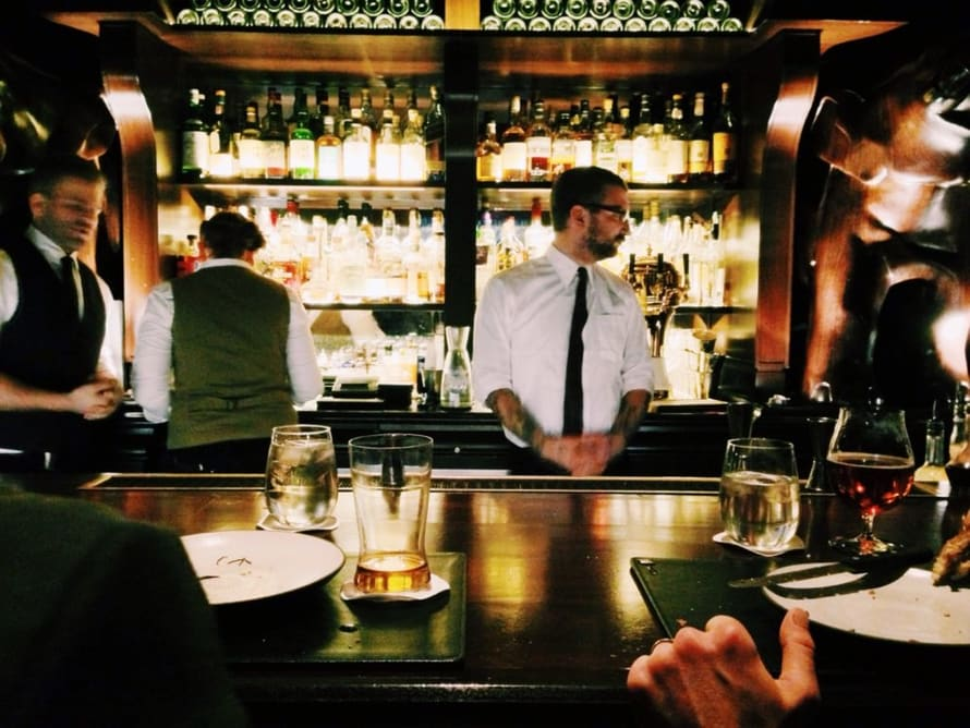 The Life of a Bartender in New York
