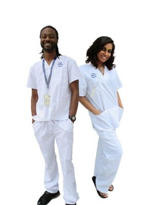 ABC Training Center High Quality Scrubs